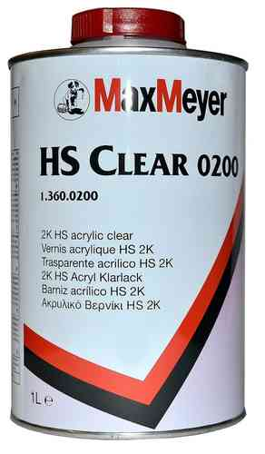 Max Meyer 2K HS Acryl Clearcoat 0200